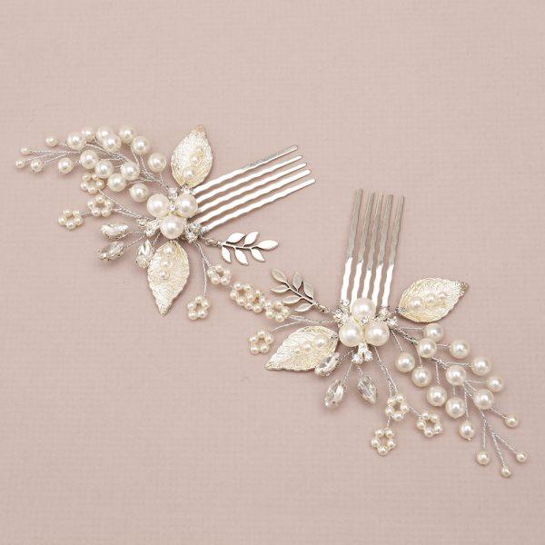 Chamomile Bridal Mini Combs