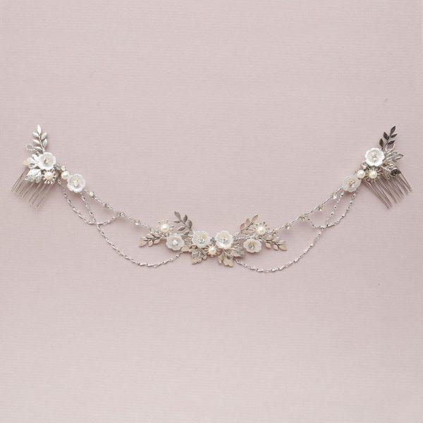 Eden Bridal Hair Drape