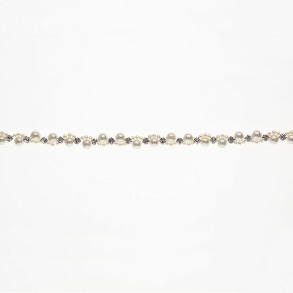 Piedmont Bridal Belt with Ribbon Ties