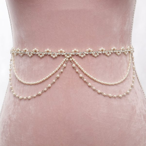 Wanderlust Bridal Belt with Ribbon Ties