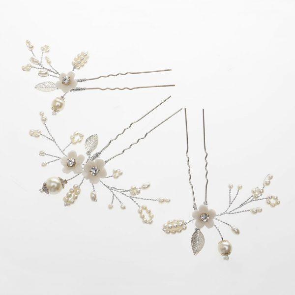 Whimsey Bridal Hair Pins