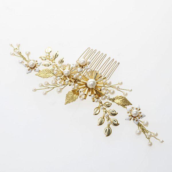 Wisteria Bridal Hair Comb